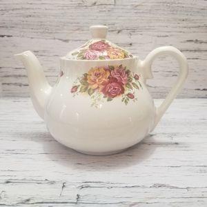 Rare Vintage BSH 1876 Heron Cross Pottery Tea Pot